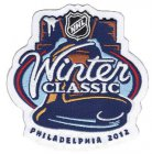 Cheap Stitched 2012 NHL Winter Classic Game Logo Jersey Patch (Philadelphia Flyers vs New York Rangers)