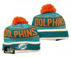 Cheap Miami Dolphins Beanies Hat YD 2