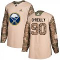 Cheap Adidas Sabres #90 Ryan O'Reilly Camo Authentic 2017 Veterans Day Youth Stitched NHL Jersey