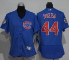 Cheap Cubs #44 Anthony Rizzo Blue Flexbase Authentic Women's Stitched MLB Jersey