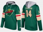 Cheap Wild #14 Joel Eriksson Ek Green Name And Number Hoodie