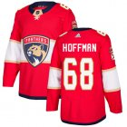 Cheap Adidas Panthers #68 Mike Hoffman Red Home Authentic Stitched Youth NHL Jersey