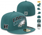 Cheap Philadelphia Eagles fitted hats 06