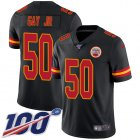 Cheap Nike Chiefs #50 Willie Gay Jr. Black Youth Stitched NFL Limited Rush 100th Season Jersey