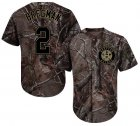 Cheap Astros #2 Alex Bregman Camo Realtree Collection Cool Base Stitched Youth MLB Jersey