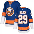 Cheap Adidas Islanders #29 Brock Nelson Royal Blue Home Authentic Stitched NHL Jersey