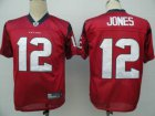 Cheap Texans #12 Jacoby Jones Red Stitched NFL Jersey