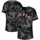 Cheap San Francisco Giants Fanatics Apparel Gold Collection Tri-Blend T-Shirt Black