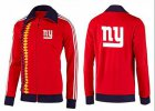 Cheap NFL New York Giants Team Logo Jacket Red_2