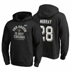 Cheap New Orleans Saints #28 Latavius Murray 2019 NFC South Division Champions Black Cover Two Hoodie