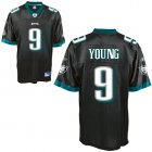 Cheap Eagles #9 Vince Young Black Stitched NFL Jersey