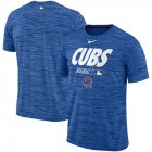Cheap Chicago Cubs Nike Authentic Collection Velocity Team Issue Performance T-Shirt Royal