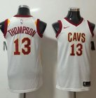 Cheap Nike Cleveland Cavaliers #13 Tristan Thompson White NBA Swingman Association Edition Jersey