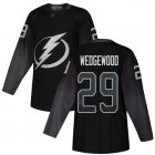 Cheap Adidas Lightning #29 Scott Wedgewood Black Alternate Authentic Stitched NHL Jersey
