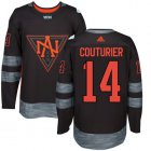 Cheap Team North America #14 Sean Couturier Black 2016 World Cup Stitched NHL Jersey