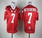 Cheap Steelers #7 Ben Roethlisberger Red 2012 Pro Bowl Stitched NFL Jersey