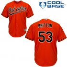 Cheap Orioles #53 Zach Britton Orange Cool Base Stitched Youth MLB Jersey