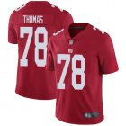 Cheap Nike Giants #78 Andrew Thomas Red Youth Stitched NFL Limited Inverted Legend Jersey