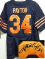 Cheap Nike Bears #34 Walter Payton Navy Blue Alternate Men's Stitched NFL Elite Autographed Jersey
