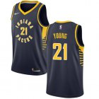 Cheap Nike Pacers #21 Thaddeus Young Navy Blue NBA Swingman Icon Edition Jersey