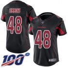 Cheap Nike Cardinals #48 Isaiah Simmons Black Women's Stitched NFL Limited Rush 100th Season Jersey