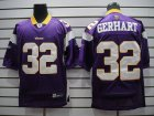Cheap Vikings #32 Toby Gerhart Purple Stitched NFL Jersey