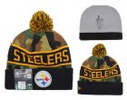 Cheap Pittsburgh Steelers Beanies YD012