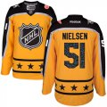 Cheap Red Wings #51 Frans Nielsen Yellow 2017 All-Star Atlantic Division Stitched NHL Jersey