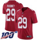 Cheap Nike Giants #29 Xavier McKinney Red Alternate Youth Stitched NFL 100th Season Vapor Untouchable Limited Jersey