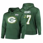 Cheap Green Bay Packers #17 Davante Adams Nike NFL 100 Primary Logo Circuit Name & Number Pullover Hoodie Green