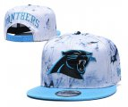 Cheap Panthers Team Logo Smoke Blue Adjustable Hat TX