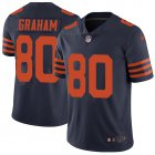 Cheap Nike Bears #80 Jimmy Graham Navy Blue Alternate Youth Stitched NFL Vapor Untouchable Limited Jersey