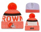 Cheap NFL Cleverland Browns Logo Stitched Knit Beanies 002