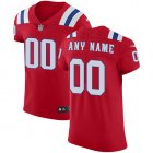 Cheap Nike New England Patriots Customized Red Alternate Stitched Vapor Untouchable Elite Men's NFL Jersey