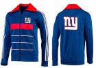 Cheap NFL New York Giants Team Logo Jacket Blue_4
