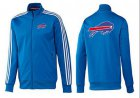 Cheap NFL Buffalo Bills Team Logo Jacket Blue_3