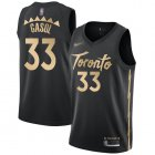 Cheap Raptors #33 Marc Gasol Black Basketball Swingman City Edition 2019-20 Jersey