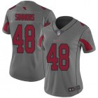 Cheap Nike Cardinals #48 Isaiah Simmons Silver Women's Stitched NFL Limited Inverted Legend Jersey