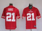 Cheap 49ers Frank Gore #21 Stitched Red NFL Jersey