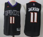 Cheap Men's 2017 Draft Phoenix Suns #11 Josh Jackson Black Stitched NBA adidas Revolution 30 Swingman Jersey