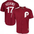 Cheap Philadelphia Phillies #17 Rhys Hoskins Majestic 1979 Saturday Night Special Cool Base Cooperstown Player Jersey Maroon