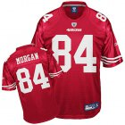 Cheap 49ers #84 Josh Morgan Red Stitched NFL Jersey