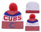 Cheap MLB Chicago Cubs Logo Stitched Knit Beanies 005
