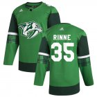Cheap Nashville Predators #35 Pekka Rinne Men's Adidas 2020 St. Patrick's Day Stitched NHL Jersey Green.jpg.jpg