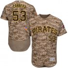 Cheap Pirates #53 Melky Cabrera Camo Flexbase Authentic Collection Stitched MLB Jersey