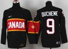 Cheap Team Canada 2014 Olympic #9 Matt Duchene Black Stitched Youth NHL Jersey