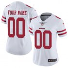 Cheap Nike San Francisco 49ers Customized White Stitched Vapor Untouchable Limited Women's NFL Jersey