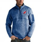 Cheap New Jersey Devils Antigua Fortune Quarter-Zip Pullover Jacket Blue