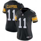 Cheap Nike Steelers #11 Chase Claypool Black Alternate Women's Stitched NFL Vapor Untouchable Limited Jersey