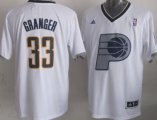 Cheap Indiana Pacers #33 Danny Granger Revolution 30 Swingman 2013 Christmas Day White Jersey